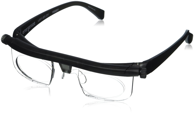 7b94356e827a Amazon.com  Adlens Adjustable Glasses for Men   Women - Variable Focus  Glasses - Changeable Prescription Lenses - 20 20 Vision - Nearsighted    Farsighted ...