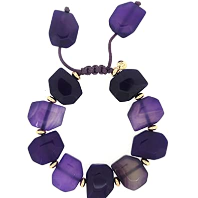 Lola Rose Tyler Bracelet Purple Punch Agate