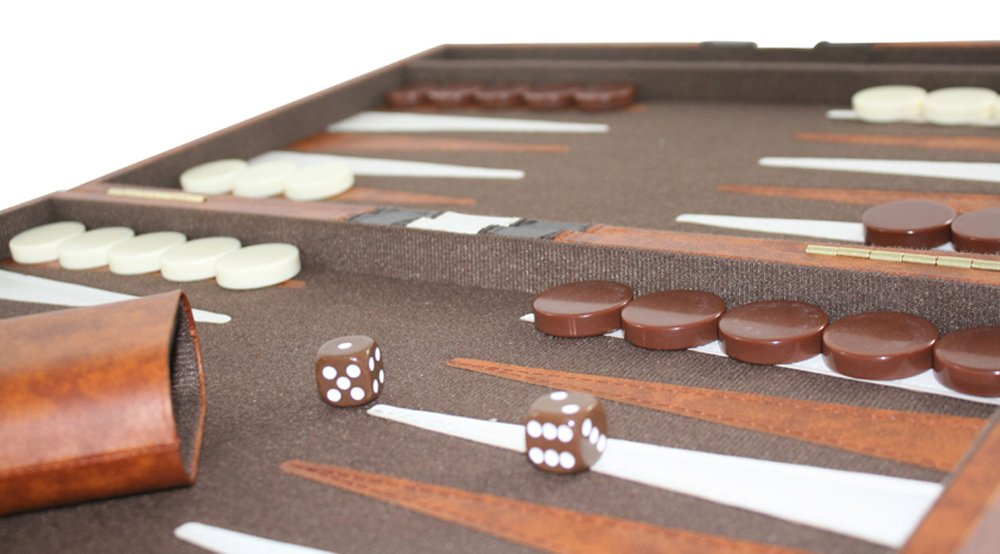 amazoncom 1 top backgammon set classic board game case best strategy u0026 tip guide available in small medium and large sizes by get the games out - Backgammon Game