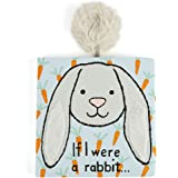 Jellycat Book If I Were a Rabbit (Grey Bunny) - Board Book