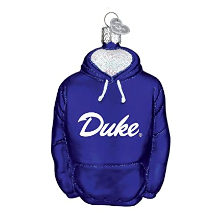 Amazon.com: Old World Christmas Ornaments: Duke Hoodie Glass Blown ...