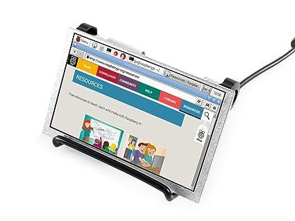 Amazon com: 5 inch LCD IPS Display 800x480 Resolution Screen