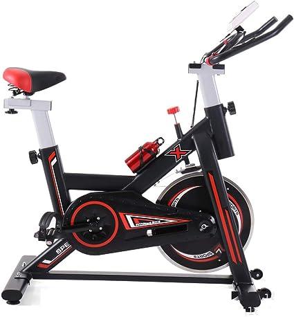 KuaiKeSport Bicicleta Estática de Fitness, Bici Spinning Bicicleta Fitness con Consola y Sensores de Pulso en Manillar,Capacidad Máxima de Carga 120kg Bicicleta de Ejercicios Electromagneticos: Amazon.es: Deportes y aire libre