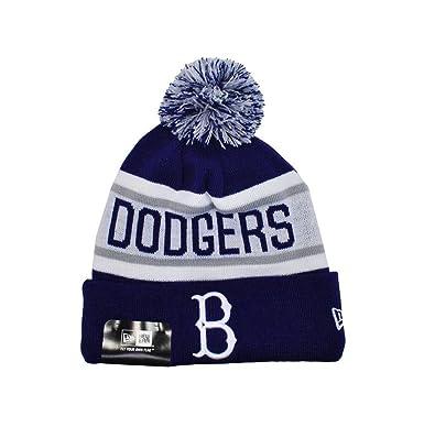 8a5d51b5 New Era Knit Mlb Brooklyn Dodgers Beanie Unisex Hat Royal Blue/white