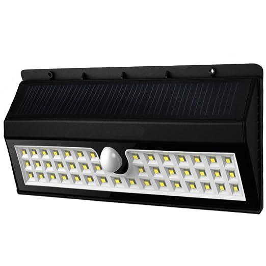 Gsunlight 44 Lampe Solaire Led Jardin Sans Fil Lumière Extérieur