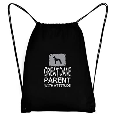 lovely Teeburon Great Dane parent with attitude Sport Bag