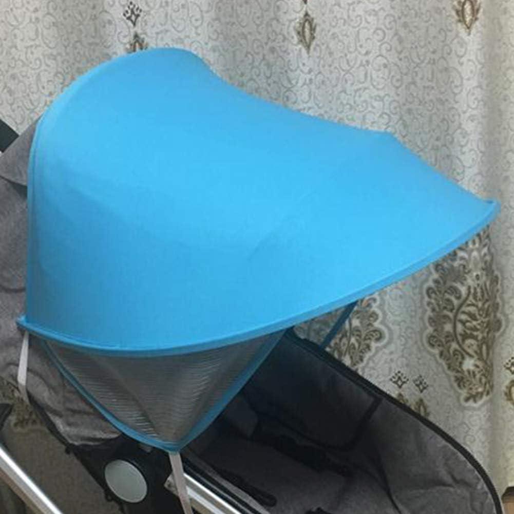 Parasol resistente a la intemperie toldo anti rayos UV rosa rosa protector solar parasol para cochecito de beb/é