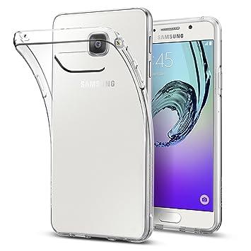 new concept d7a26 b7882 Samsung Galaxy A3 2016 Case, Spigen® [Liquid Crystal] Ultra-Thin [Crystal  Clear] Premium TPU / Transparent / Exact Fit / NO Bulkiness Soft Shockproof  ...