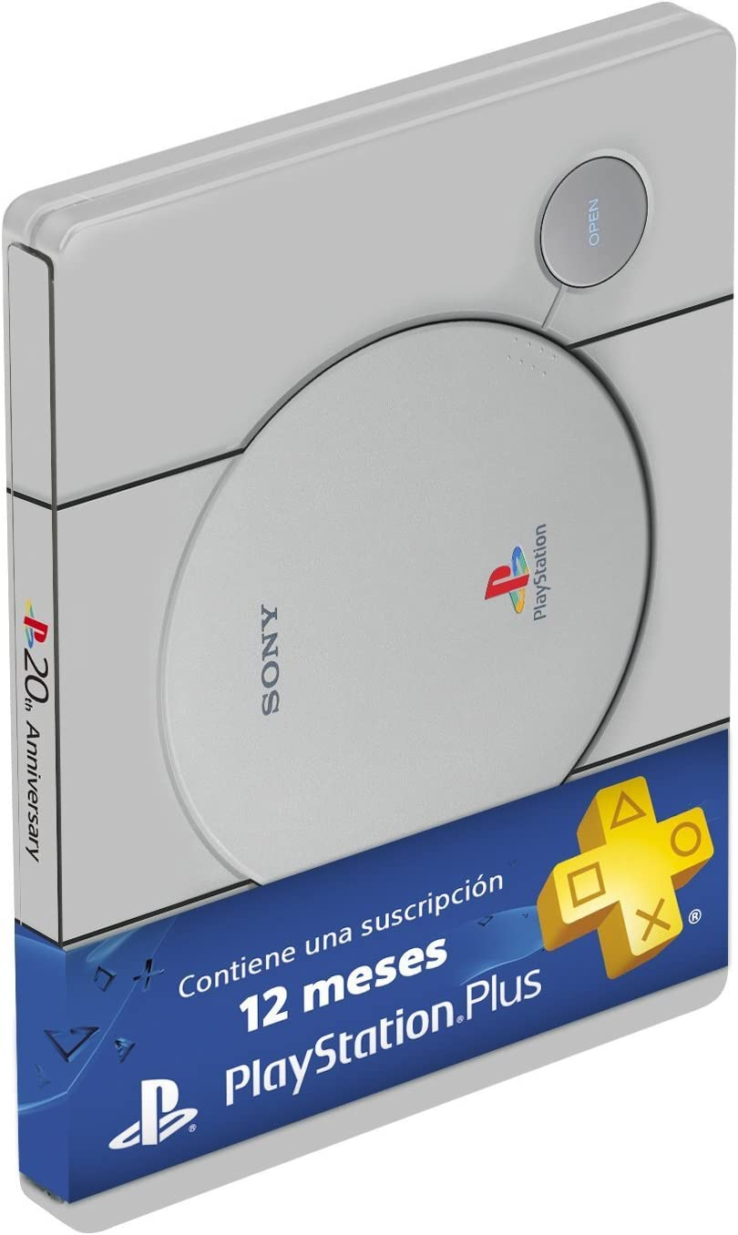 Sony - PlayStation Plus 365 Días, Steelbook Edition (PS4): Amazon ...