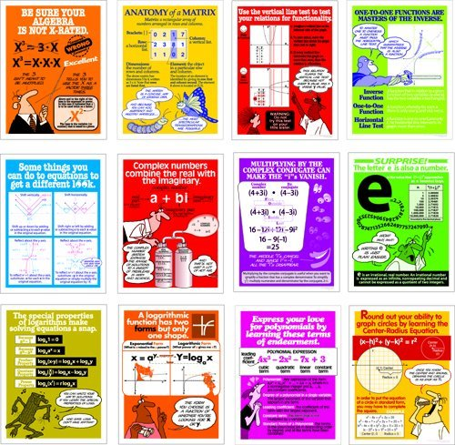RJD Advanced Algebra Poster Set (12)