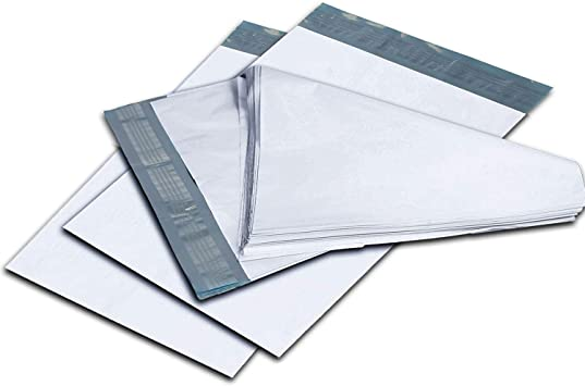"""Clear View Poly Mailers 10/"""" x 13/"""" Shipping Mailing Envelopes Bags 2 Mil 100 Pcs"""