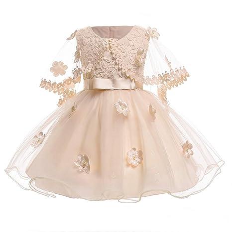 Amazon.com: Vestido para niñas princesas fiesta vestido de ...
