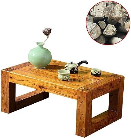Muebles y Accesorios de jardín Mesas Pequeña Mesa de té casa sólida Mesa de Centro de
