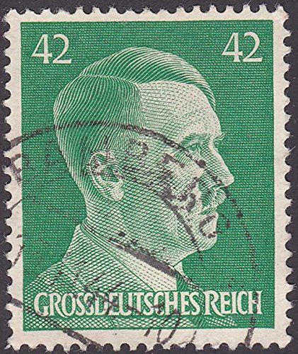 stamp German Adolf Hitler 42 Pfennigs Grossdeusches Reich Postage