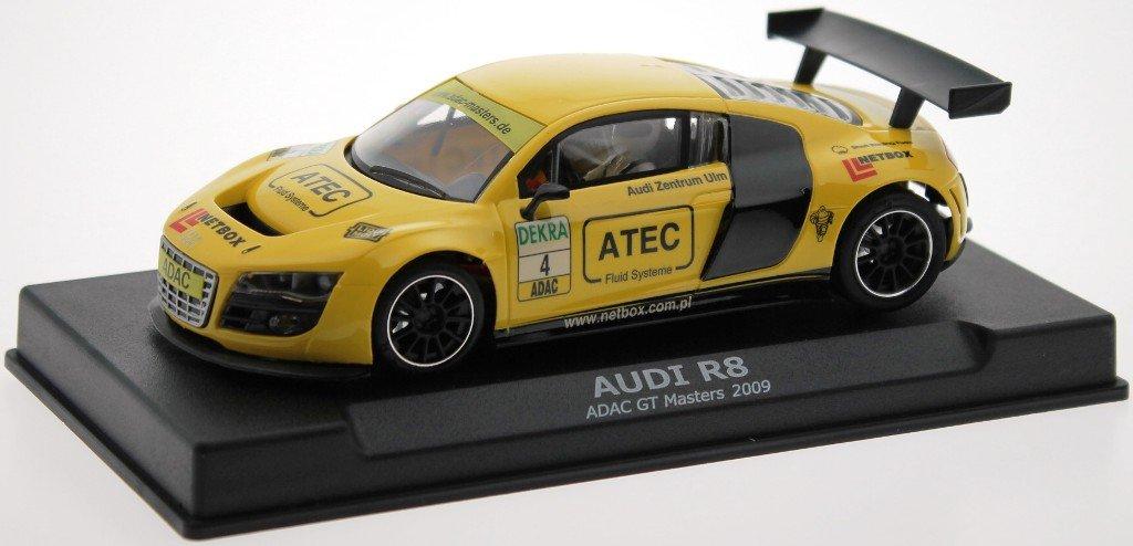 NSR Fahrzeuge 801114AW Audi R8 ADAC Gelb AW King Evo3 21400