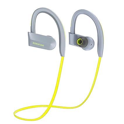 Borofone BE4 Auriculares Bluetooth 4.1 Inalámbrico Con Sonido Estéreo para Deporte Correr con Gancho Para la