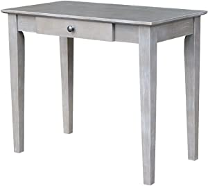 International Concepts Writing Desk, Washed Gray Taupe