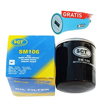 Original SCT Alemania aceite sm106 + Cargador De Coche ...
