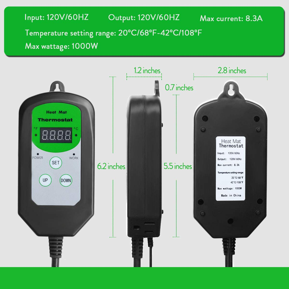 Amazon.com: Termostato termostato termostato termostato ...