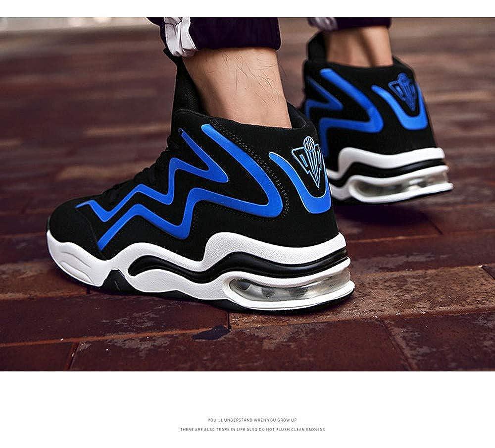 IDNG Basketballschuhe Basketball-Schuhe Für Männer Basketball-Turnschuhe Stoßfest Stoßfest Basketball-Turnschuhe Athletische Sportschuhe fb0717