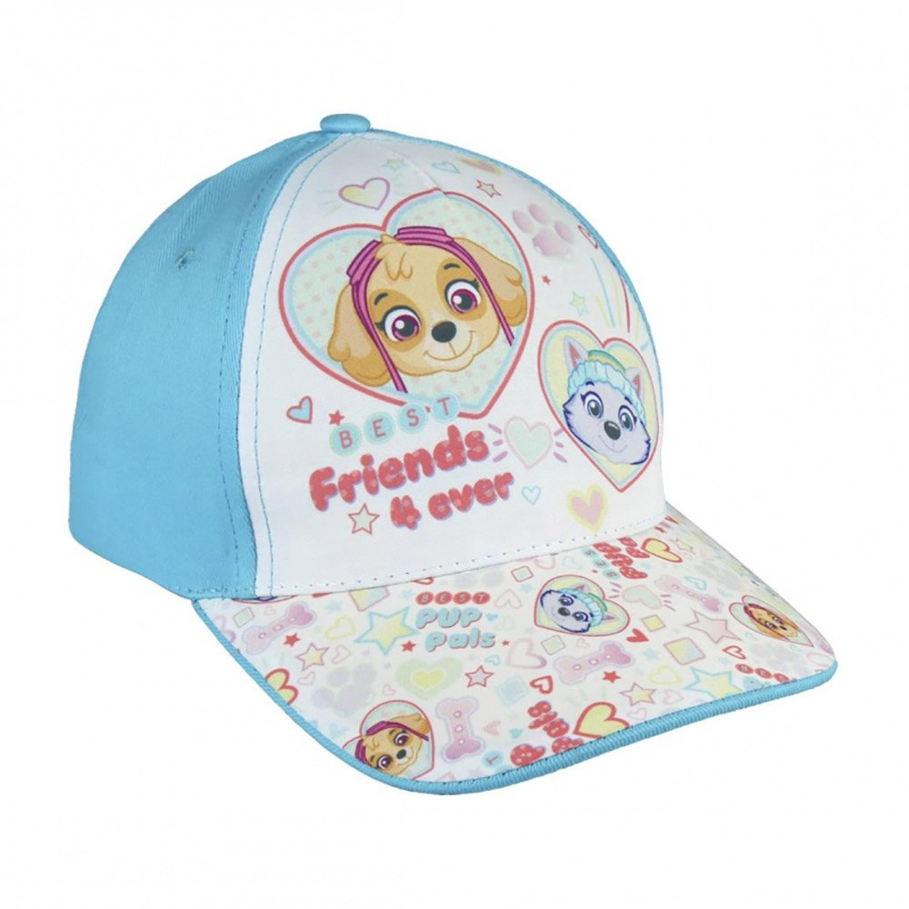 Paw Patrol Girls Baseball Cap for Little Grils 53CM Summer Hat (Friends 4 Ever)