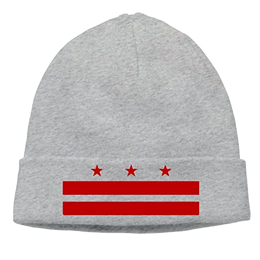 31c5ed9ee604 Adult Patriotic State Flag Of Washington D.C. Winter Beanie Hat Skull Cap  at Amazon Men's Clothing store: