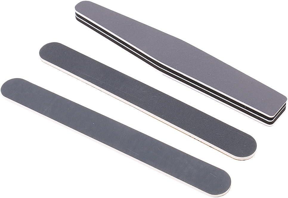 perfk 1 Set Long File Grinding Sand Bar Mini Polishing Tool for Gundam Model