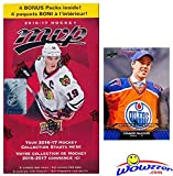 #7: 2016/17 Upper Deck MVP NHL Hockey EXCLUSIVE HUGE Factory Sealed Blaster Box with 24 Packs & 120 Cards PLUS BONUS Connor McDavid ROOKIE! Box Features New RC's & Inserts! Look for Autographs & Jerseys!