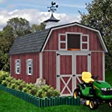Best Barns Woodville 10 ft. x 12 ft. Wood Storage Shed Kit without Floor