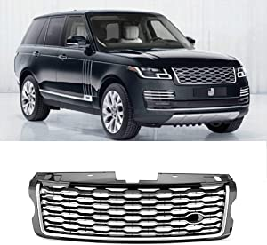 MotorFansClub Front Bumper Grille Facelift Grill Fit For Compatible With Land Rover Range Rover Vogue L405 2013-2017