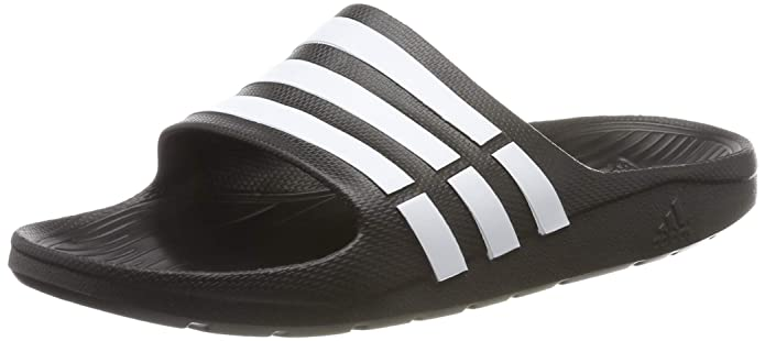 new style c7c49 14c68 Adidas Men's Duramo Slide Flip-Flops and House Slippers