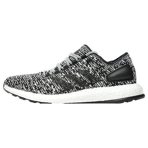 Adidas Hombre Pure Boost Zapatillas para Correr Negro, 46: Amazon.es: Zapatos y complementos