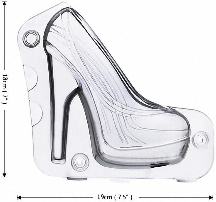 3D DIY High heel Schuh chocolate Candy Backform dekorieren Jelly Mold Eis D1W3