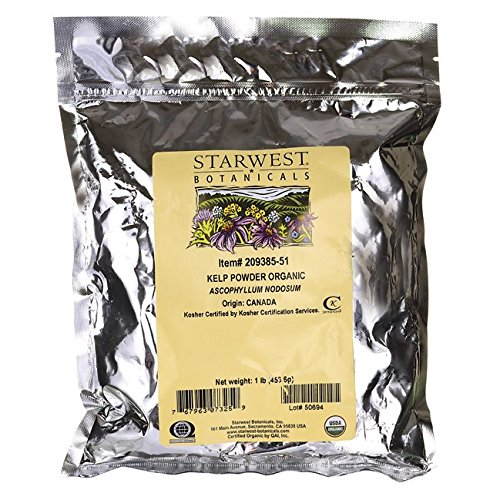 Kelp Powder Organic Starwest Botanicals 1 lb