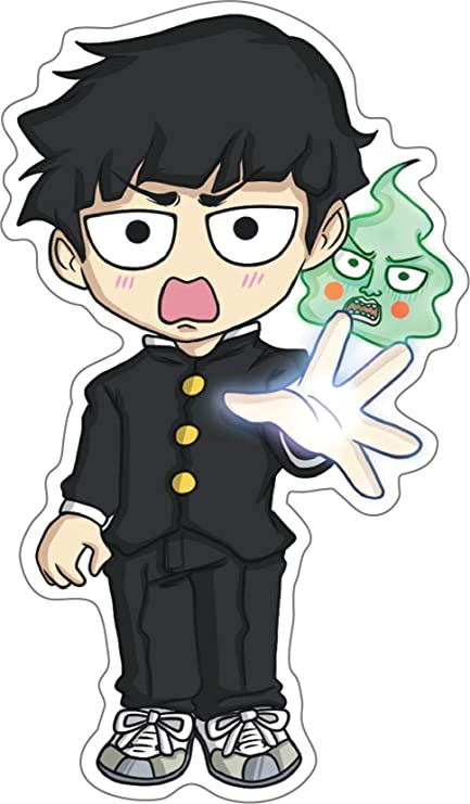 Mob Psycho 100 Sticker Decal 100 Anime Laptop One Punch Man