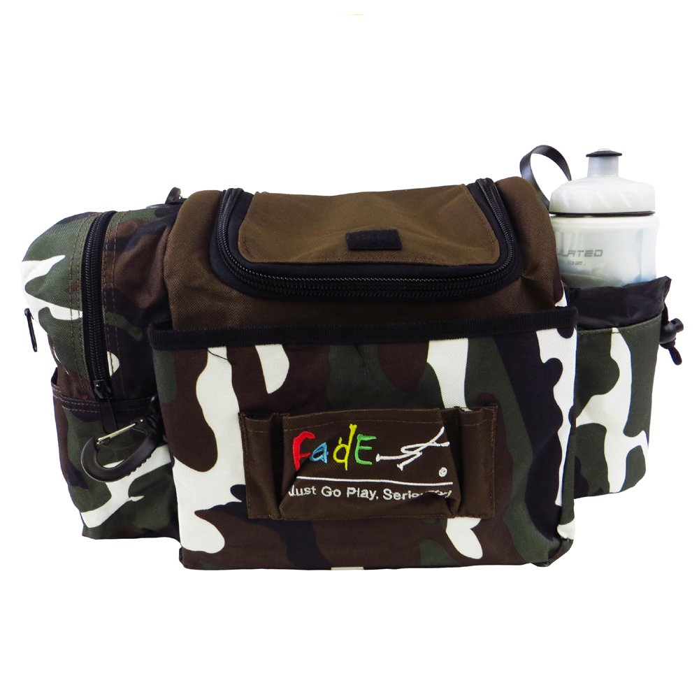 Fade Crunch Box Disc Golf Bag Camouflage