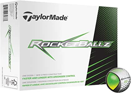 TaylorMade Rocketballz Golf Balls (1 Dozen)