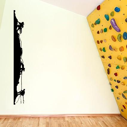 rockclimbing roca Boldering escalada 05 decoraciones de pared pegatinas de ventana decoración de la pared pegatinas de pared Wall Art adhesivos de ...