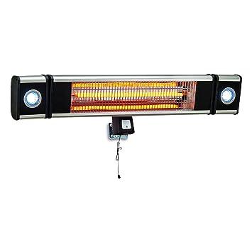 Outdoor Heat Lights Profusion heat wall mount indooroutdoor heater with led lights 5100 profusion heat wall mount indooroutdoor heater with led lights 5100 btu workwithnaturefo