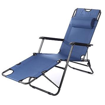FLYR Chaise Longue Pliante Lit Pliant Simple Pause Dejeuner Office De