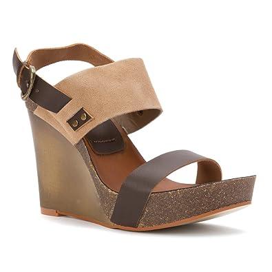 a301da4830c9 MIA Women s Foxy Brown Natural Sandal 8.5 M