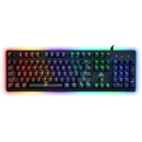 Ant Esports MK3000 Multicolour LED Backlit Wired Mechanical Gaming Keyboard with Blue Switches (Black)