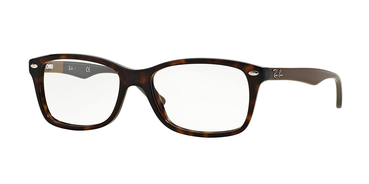 Ray-Ban RX5228 Glasses in Havana Brown RX5228 5545 50