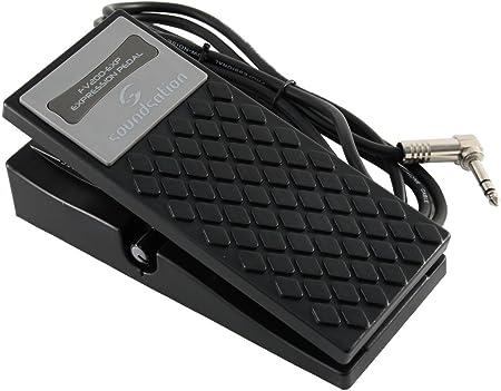 SOUNDSATION FV200 - Pedal de expresión para teclado con cable estéreo y ajuste de volumen mínimo