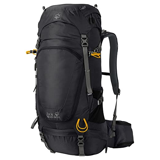 1da371eac43 Amazon.com : Jack Wolfskin Highland Trail Rucksack, Black, 42 L ...