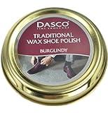 Dasco Wax shoe polish - Burgundy