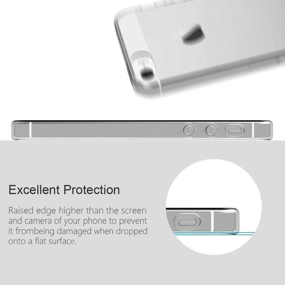 Funda para LeEco Le S3, Leathlux Trasparente Suave TPU Carcasa Protector Bumper Tapa Claro Flexible Silicona Gel Ultra Delgado Cubierta para LeEco Le ...