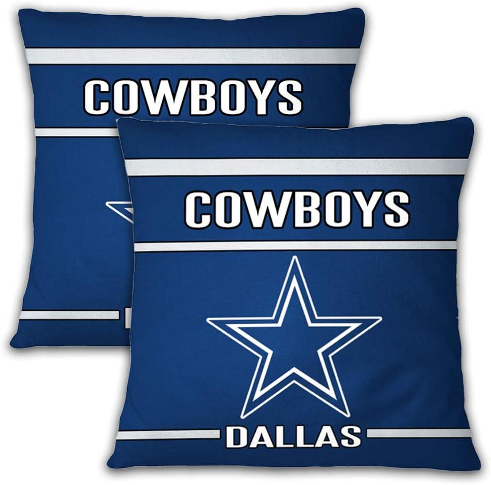 SUNWISHA Super Bowl Throw Pillow Covers Football Team Pattern Modern Decorative Cushion Case for Bedroom Room Sofa Chair Car