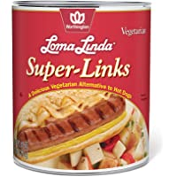 Loma Linda Vegetarian Super Links, 96 Ounce