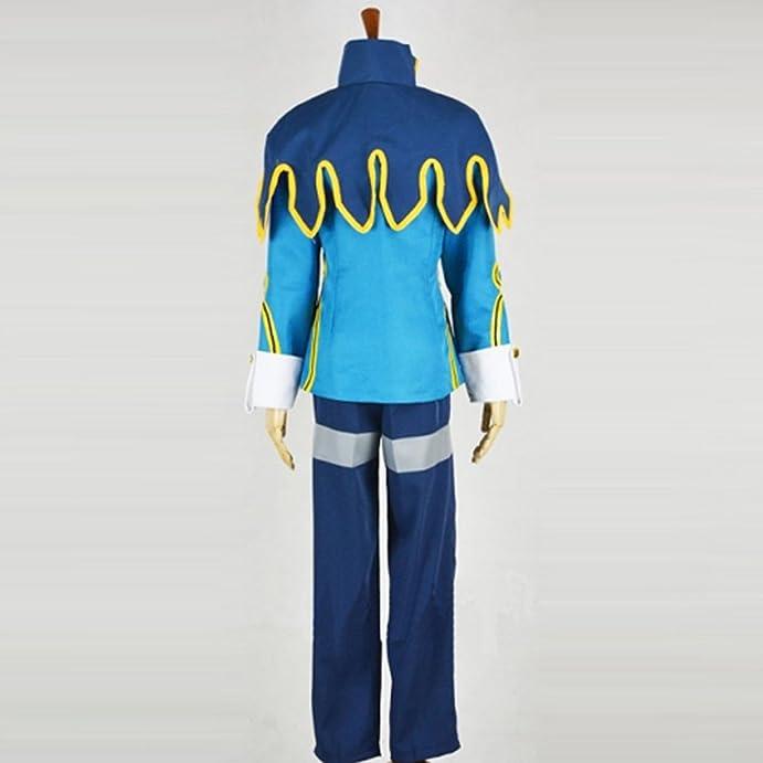 Amazon.com: Cuterole Anime Fairy Tail Cosplay Lyon Vastia Costume Halloween  Uniform Custom: Clothing
